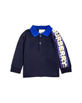 Burberry - Boys' Mini Duncan Long-Sleeve Polo Shirt - Baby