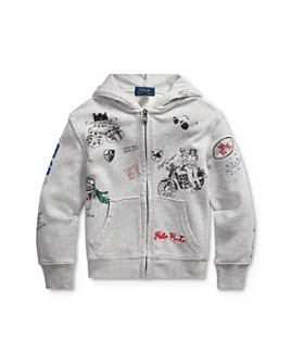 Ralph Lauren - Boys' Graphic Hoodie - Little Kid
