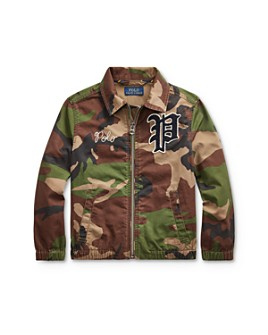 Ralph Lauren - Boys' Bayport Camo Jacket - Little Kid