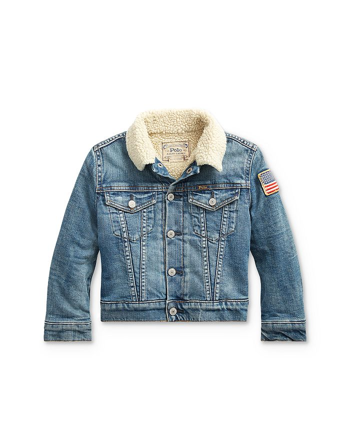 Ralph Lauren - Boys' Denim Trucker Jacket - Little Kid