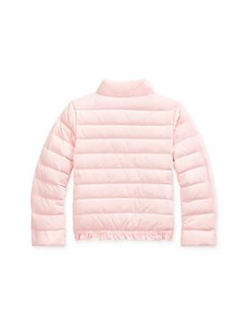 Ralph Lauren - Girls' Ruffle-Hem Down Jacket - Little Kid