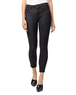 Sanctuary - Social Standard High-Rise Ankle Skinny Jeans in Serpent Black