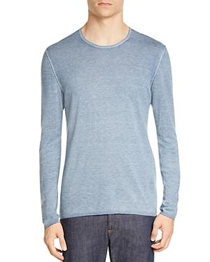 John Varvatos Tops Silk & Cashmere Crewneck Sweater
