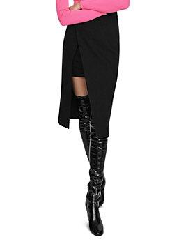 Maje - Jeanne Layered Pencil Skirt