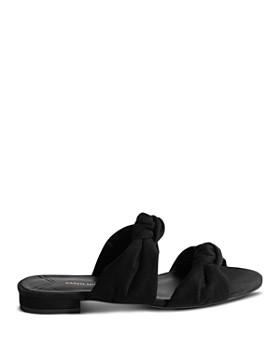 KAREN MILLEN - Women's Knotted Slide Sandals