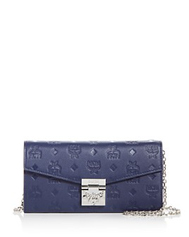 MCM - Patricia Small Leather Convertible Crossbody