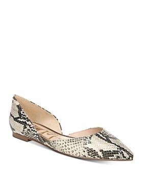 Sam Edelman - Women's Rodney Pointed Toe d'Orsay Flats