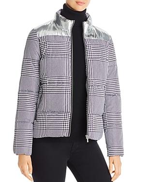 Calvin Klein Houndstooth Puffer Jacket