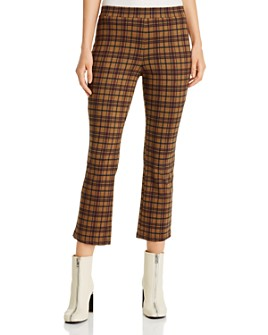 Sanctuary - Carnaby Checked & Cropped Pants