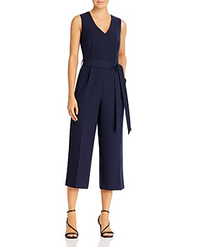 VINCE CAMUTO - Cropped Wide-Leg Jumpsuit