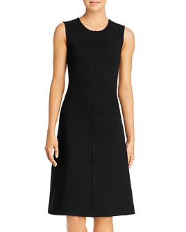 Kenneth Cole - Ponte Knit Fit-and-Flare Dress