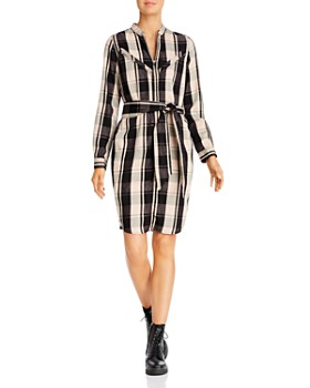 Scotch & Soda - Zip-Front Shirt Dress