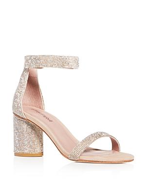 Jeffrey Campbell Women\\\'s Laura-js Embellished Block-Heel Sandals