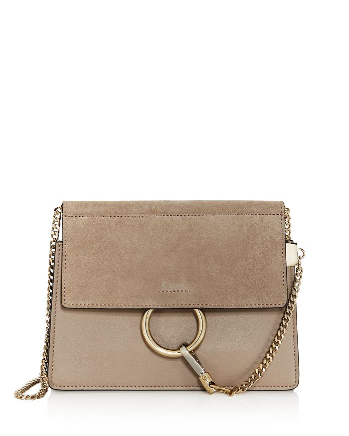Chloé - Faye Small Leather & Suede Crossbody