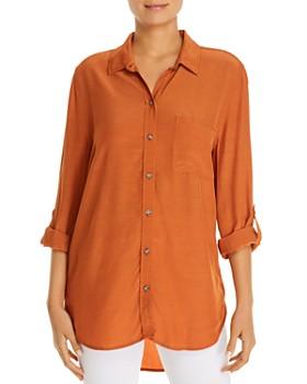 BeachLunchLounge - High/Low Tunic Shirt