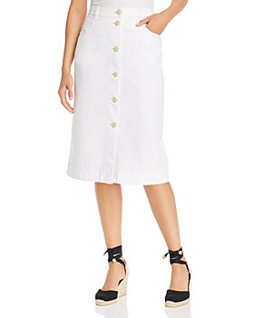 See by Chloé - Button-Front Denim Skirt