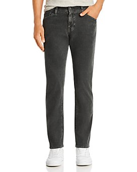 AG - The Graduate Straight Slim Fit Corduroy Pants in Sulfur Night Shade