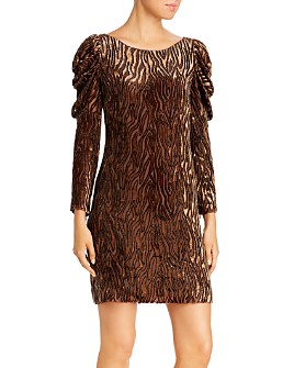 Elie Tahari - Alex Animal-Print Dress