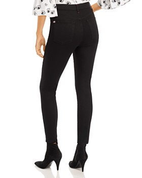 Alice and Olivia - Good High-Rise Ankle Jeans in Black