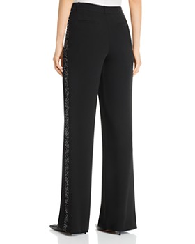 Lafayette 148 New York - Dalton Sequin Stripe Wide Leg Pants