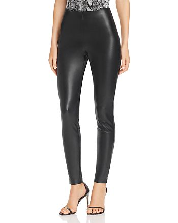 GUESS - Faux Leather Skinny Pants