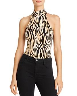 GUESS - Ling Animal-Print Bodysuit