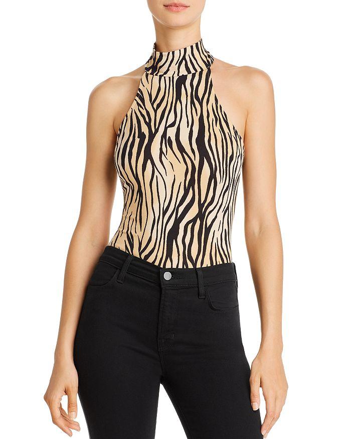 GUESS - Ling Animal-Print Bodysuit
