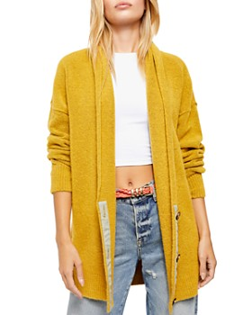 Free People - Eucalyptus Long Cardigan