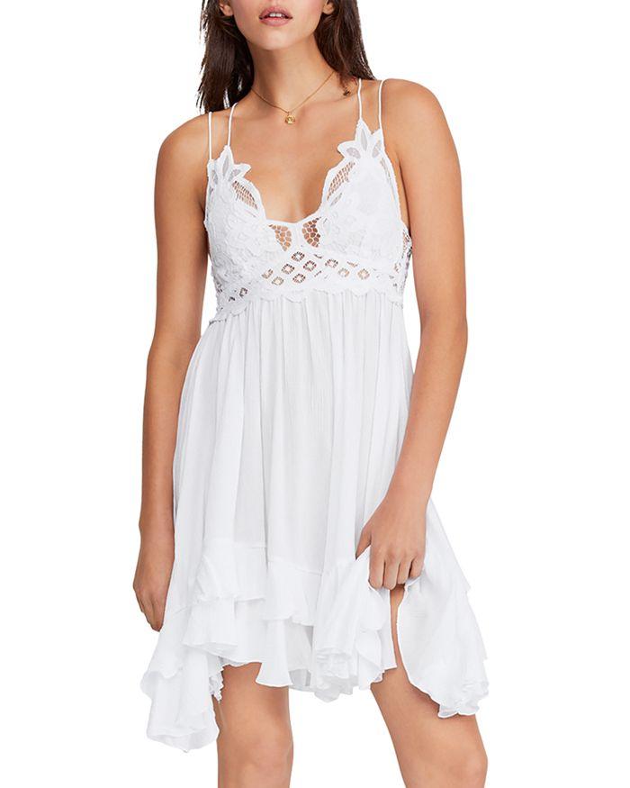 Free People Dresses Adella Sleeveless Crochet-Trim Dress