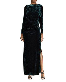 Ralph Lauren - Crushed Velvet Gown