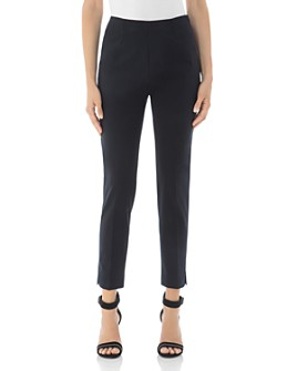 Peserico - Slit-Hem Cotton Stretch Pants