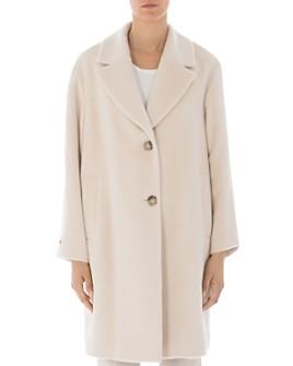 Peserico - Alpaca & Virgin Wool Two-Button Coat