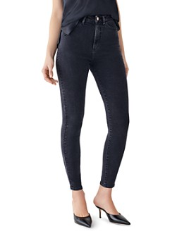 DL1961 - DL1961 x Marianna Hewitt Chrissy Ankle Ultra High-Rise Jeans
