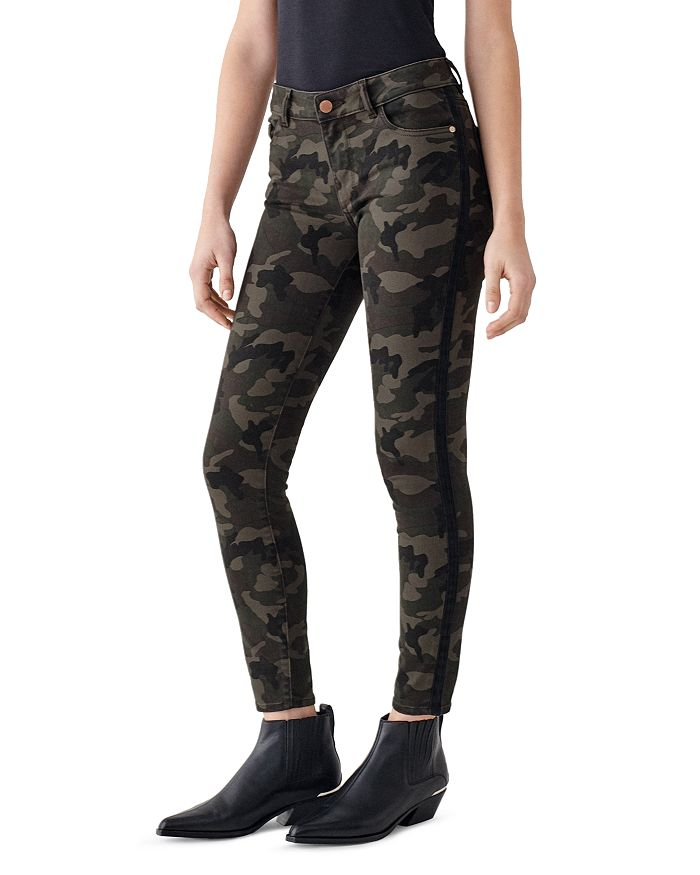 Dl DL1961 FLORENCE ANKLE MID-RISE JEANS IN FORT GREENE