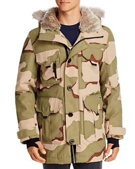 Lacoste - Camo AOP Down Jacket - 100% Exclusive
