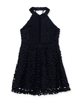 Bardot Junior - Girls' Gemma Open-Back Lace Dress - Big Kid