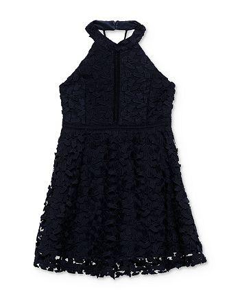Bardot Junior - Girls' Gemma Open-Back Lace Dress - Big Kid