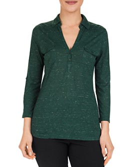 Gerard Darel - Ermano Flecked Jersey Top