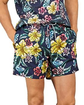 Ted Baker - Marang Floral Drawstring Swim Shorts