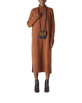Whistles - Merino Wool Turtleneck Sweater Dress