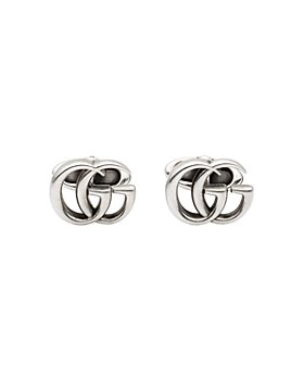 Gucci - Sterling Silver GG Marmont Cufflinks