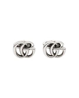 Gucci - Sterling Silver GG Marmont Cufflinks