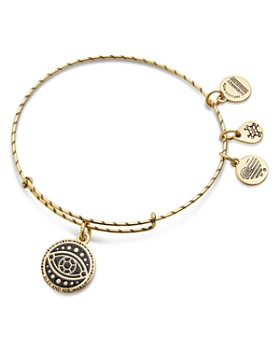 Alex and Ani - Evil Eye Charm Bangle Bracelet