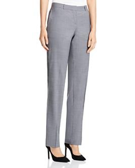 BOSS - Tamea Wool Straight-Leg Pants