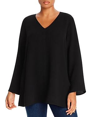 Lafayette 148 New York Plus Thurmen Blouse