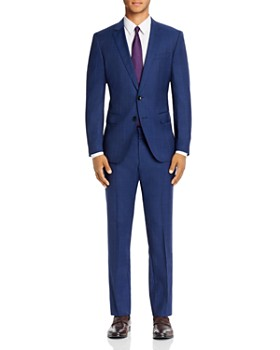 BOSS - Prince of Wales Plaid Slim Fit Suit