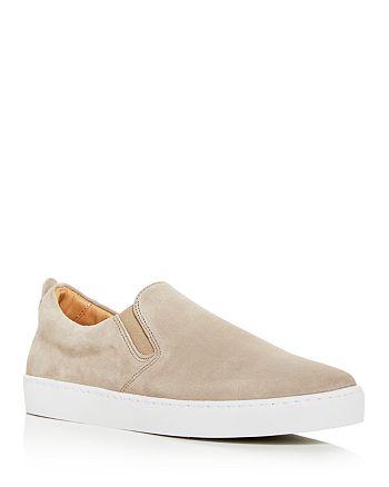 Jack Erwin - Men's Thomas Suede Slip-On Sneakers - 100% Exclusive
