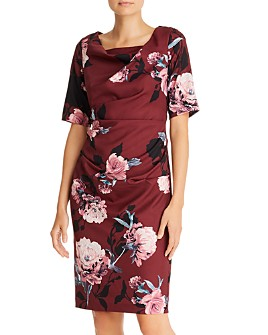Adrianna Papell - Roses Sheath Dress - 100% Exclusive