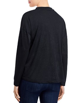 B Collection by Bobeau - Cecile Convertible Tie-Front Cardigan