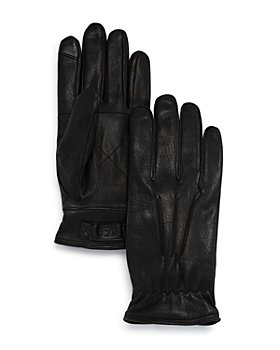 UGG® - 3-Point Leather Gloves